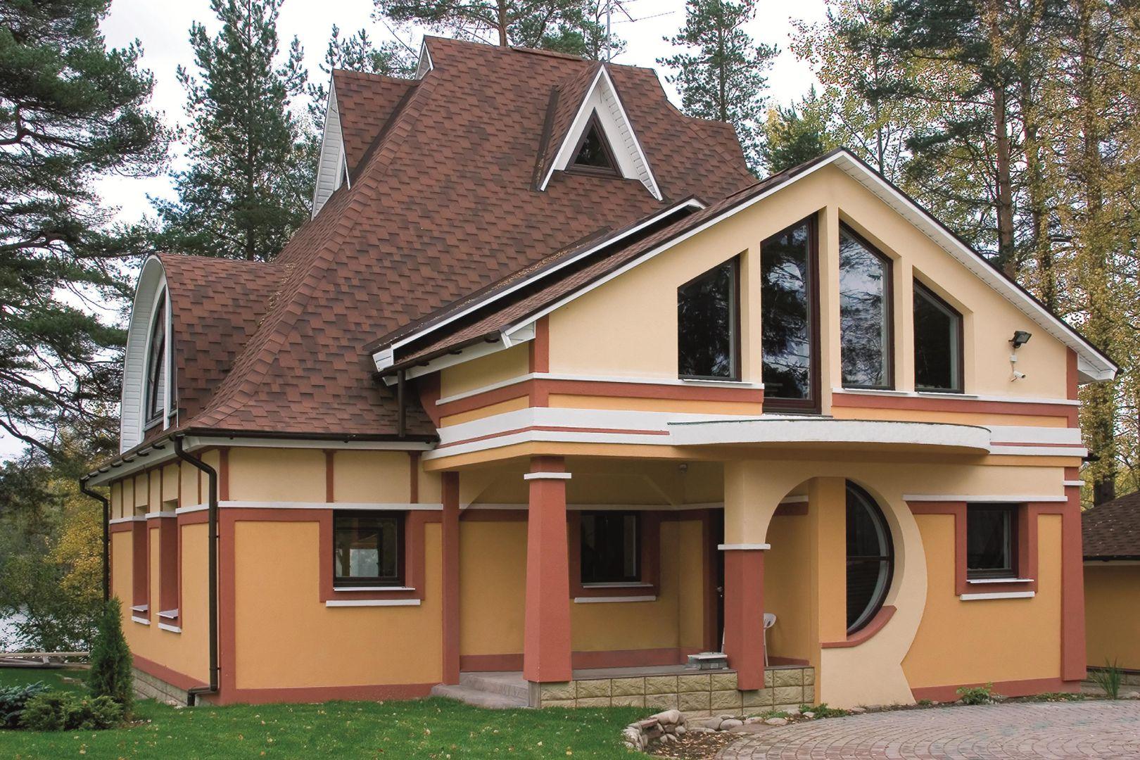 Красивый фасад – лицо вашего коттеджа