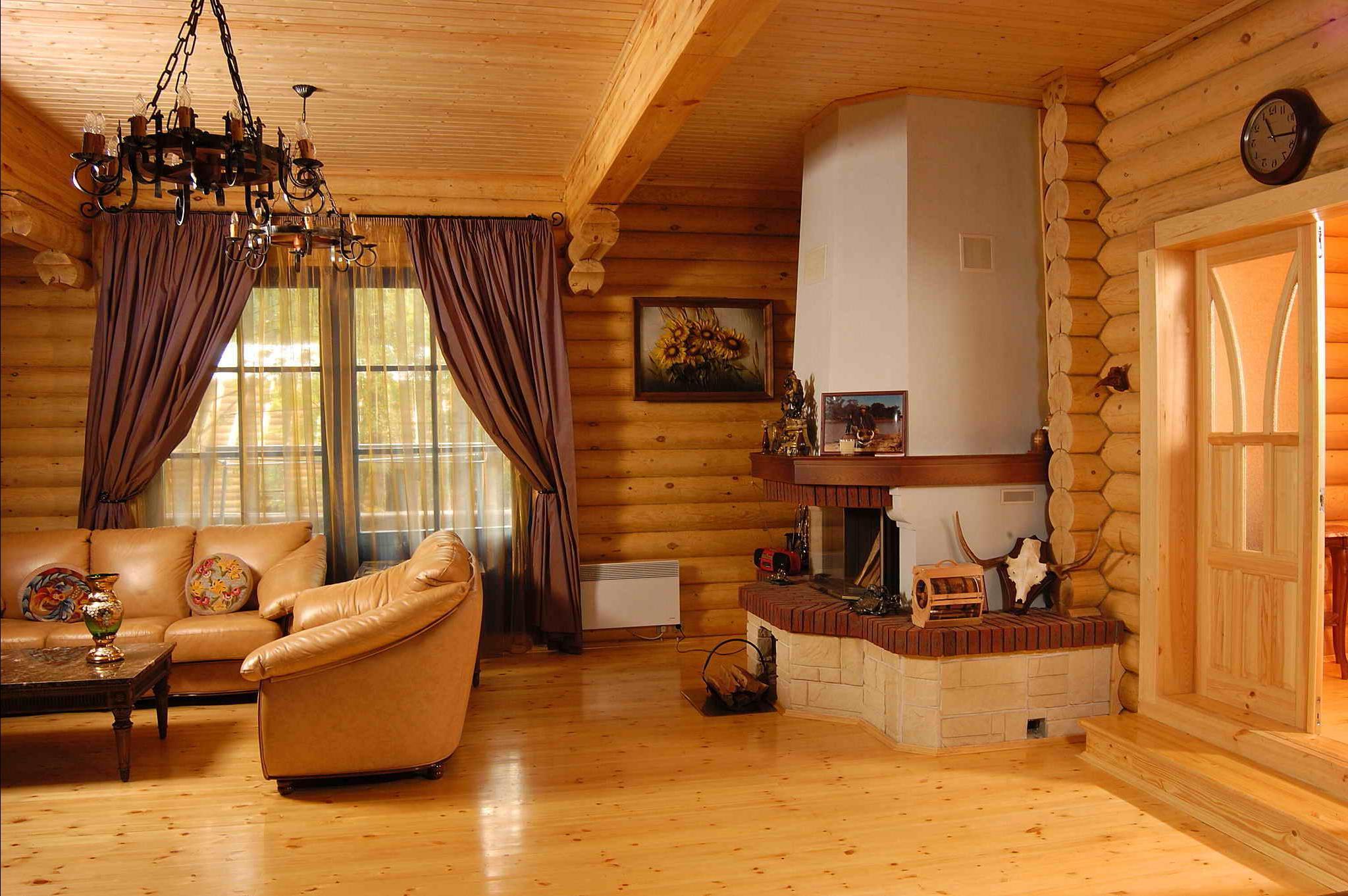 5 вариантов отделки стен в загородном доме